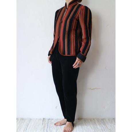 ~80's Quilting Stripe Jacket