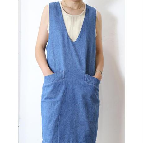80's Denim tunic
