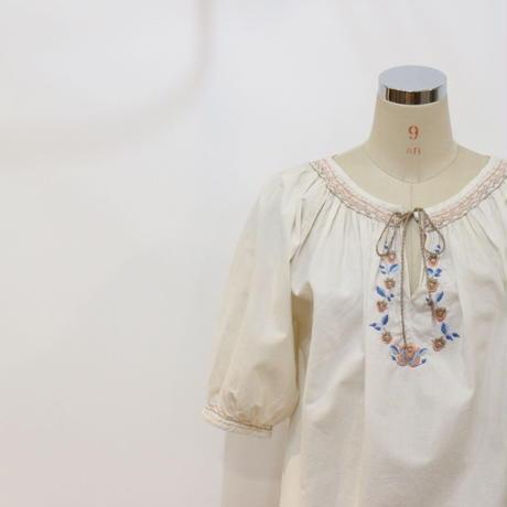 ~80's 刺繍チュニック [315e]