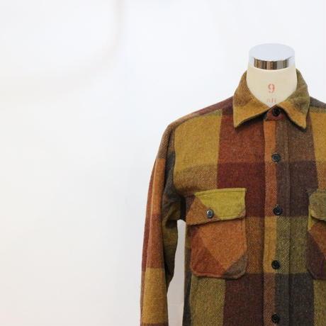 60~70's C.P.O ウールシャツジャケット [469a]