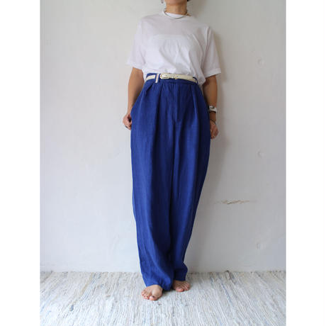 HeavyLinen TuckPants [No.30099]