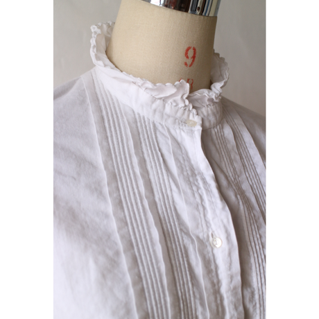Antique StandCollar Blouse [454C]