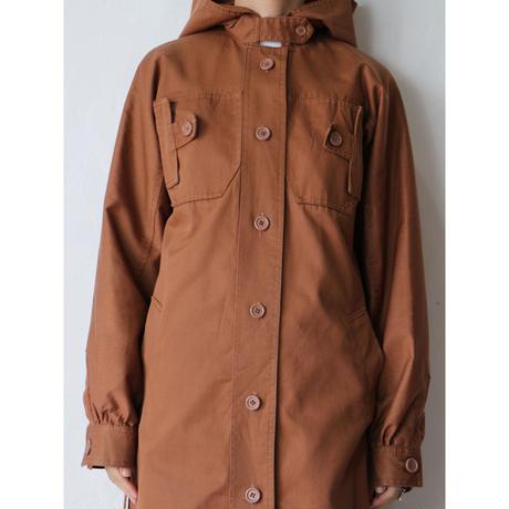 80's Hooded Coat