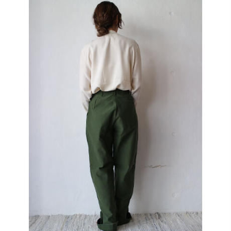 "80's ""Sweden Military"" Utility Pants [No.30228]"