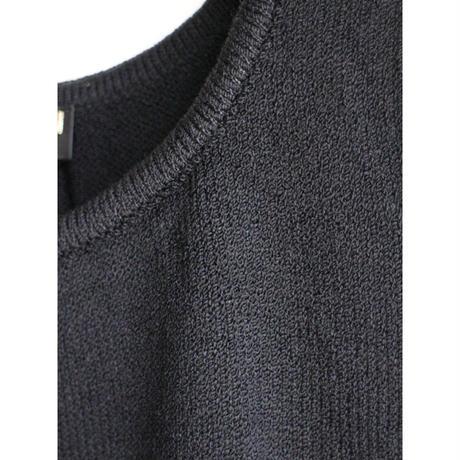 "Knit tanktop ""black"""