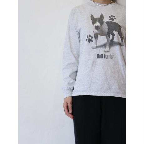 """90's L/S T-shirt """"BullTerrier"""""""