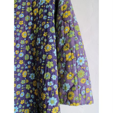 Vintage Floral quilted coat