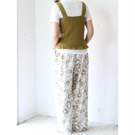 Cotton wide rib knit