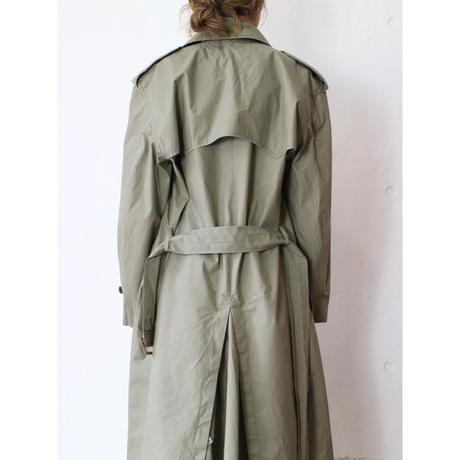 """90's """"RalphLauren"""" Poplin trench coat"""