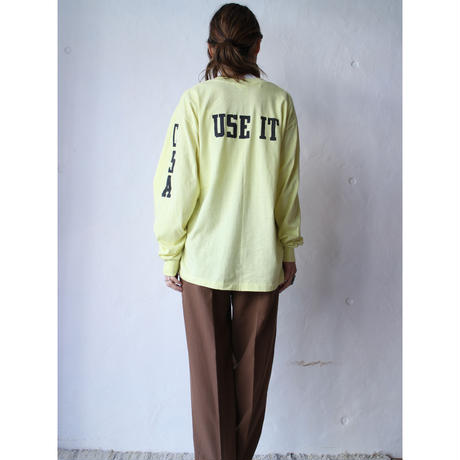 """80's L/S T-shirt """"THIS IS IT"""""""