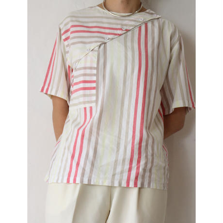 80's Striped Tops [No.70084]