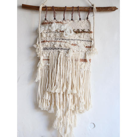 [vw21ss-4]  wallhanging vintage parts(weaving)