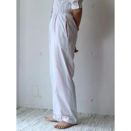 80's NOS Stripe jump suit