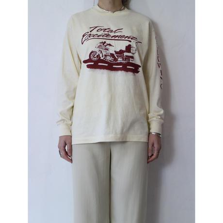 "80's L/S T-shirt ""GOLDWING"""