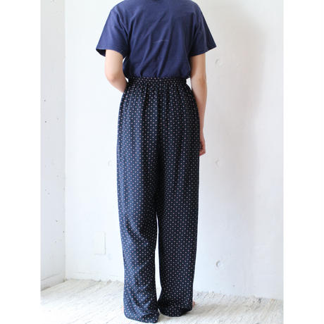 Paterned easy pants
