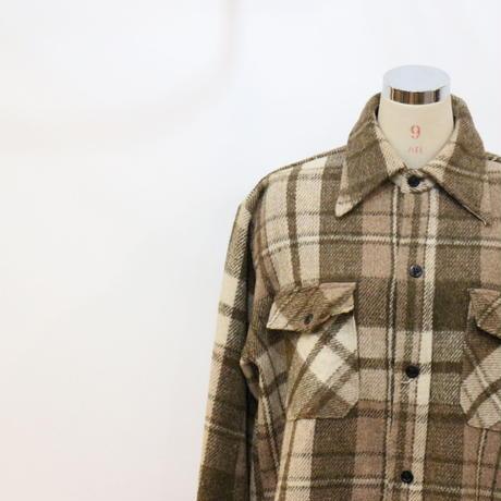 80's C.P.O ウールシャツジャケット [483]