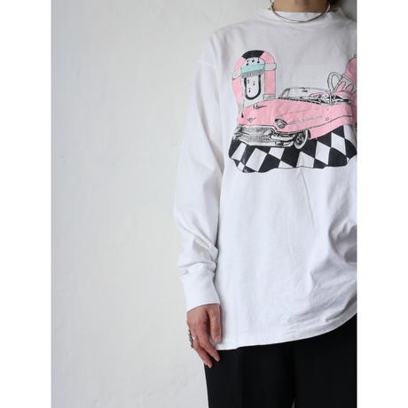 "90's L/S T-shirt ""Classic car"""