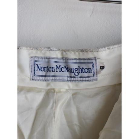 """90's Wool Slacks """"white"""" [No.10418]"""