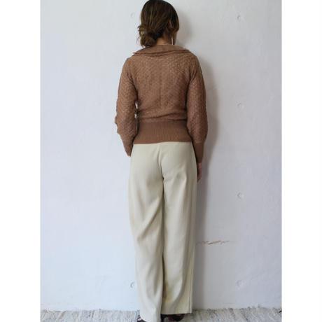 70's Frill LongRib Knit