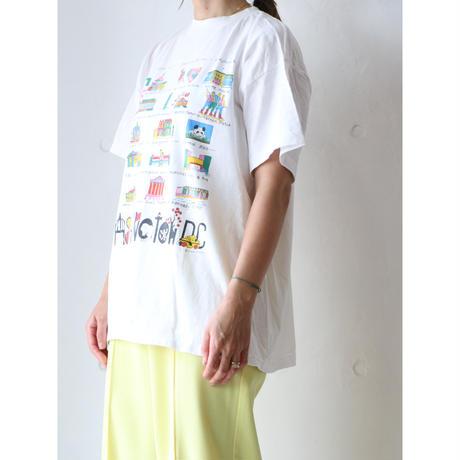 "90's T-shirt ""WASHINGTON DC"""