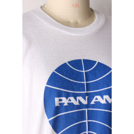 "80's T-shirt ""PAM AM"" [698C]"