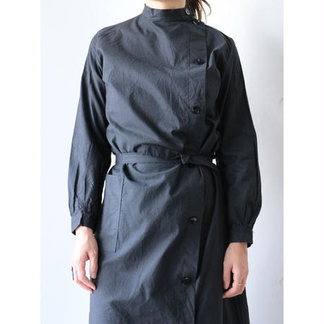 Side button work coat