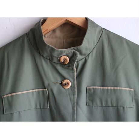 80's StandCollar Coat [No.60326]