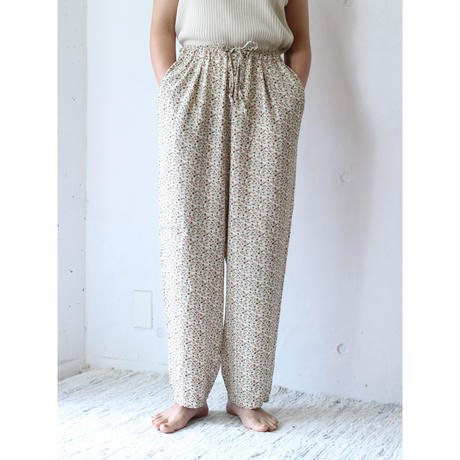 90's Floral easy pants