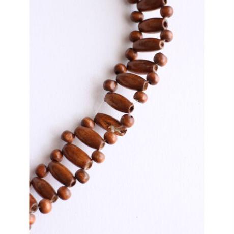 Wood Beads Shoulder Bag