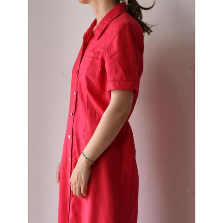 Linen long dress