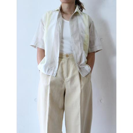 60's Wide stripe shirt