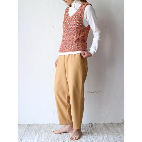 Clochette mix yarn vest