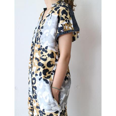 80's Patterned long dress