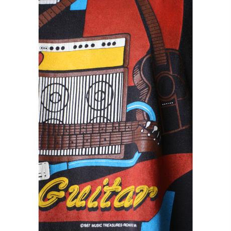 """80's T-shirt """"guiter"""""""