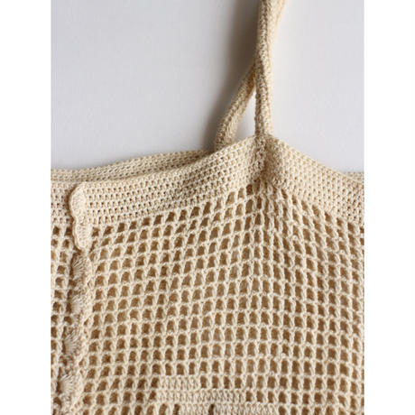 "Crochet ToteBag ""Natural"" [No.60086]"