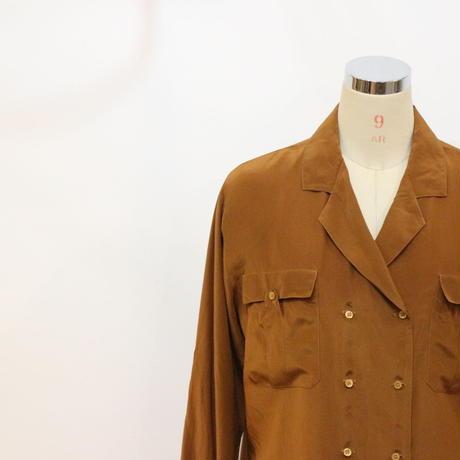 80's シルクシャツ [469b]