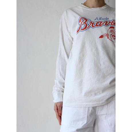 "80's L/S T-shirt ""Braves"""