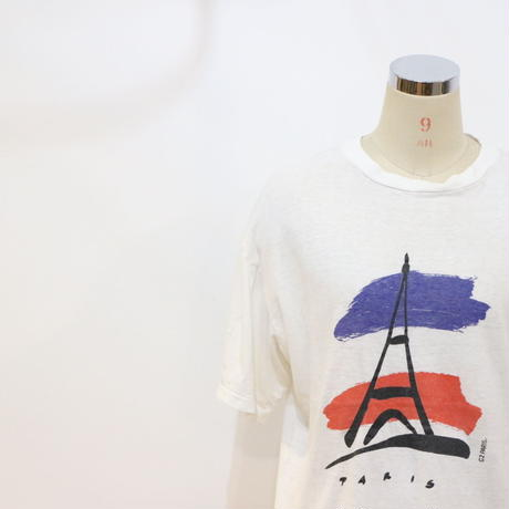 "80's~ T-Shirt ""PARIS"" [312c]"