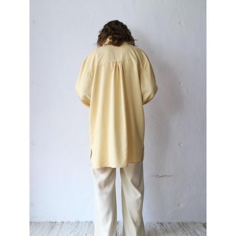 Silk long shirt