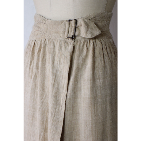 Belted Wrap Skirt [900C1]