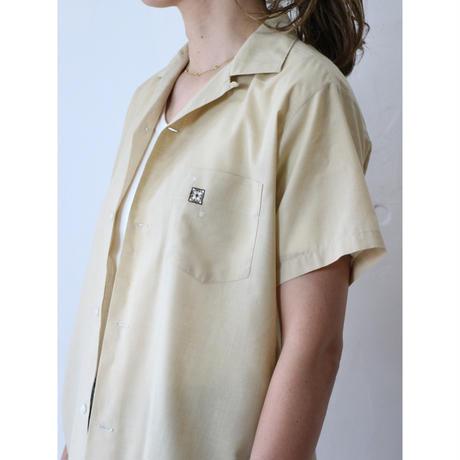 70's Open collar shirt