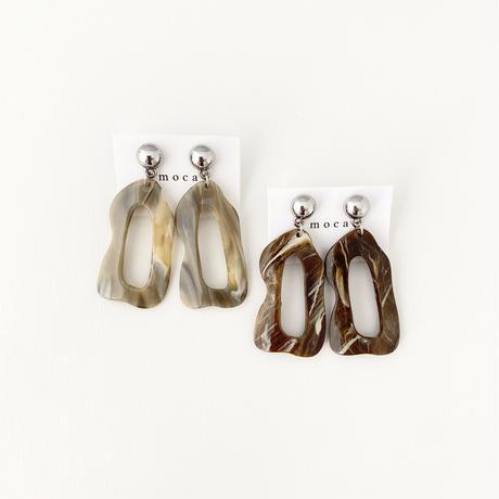 (pierce/earring)P-12 marble pierce
