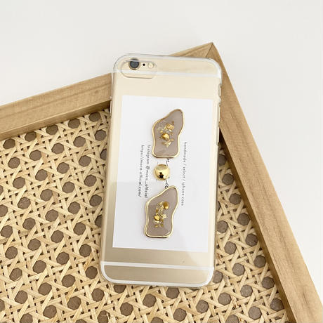 《受注販売〜2週間待ち》gold original iphone case