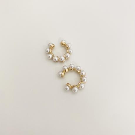 (new arrival)pearl ear cuff