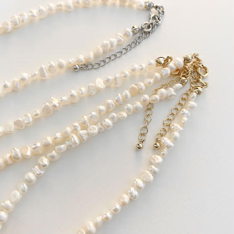 N-8 Pearl necklace