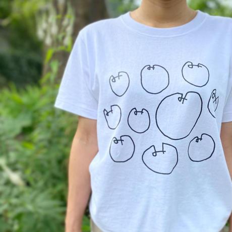 まるみTシャツ(白・スミ黒)