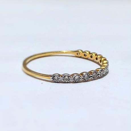 Stardust Diamond Ring