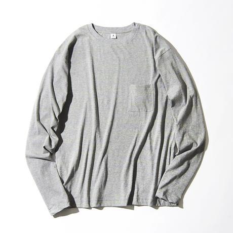 Neon Slab Crew Neck Pocket Long T-shirts (JS031)