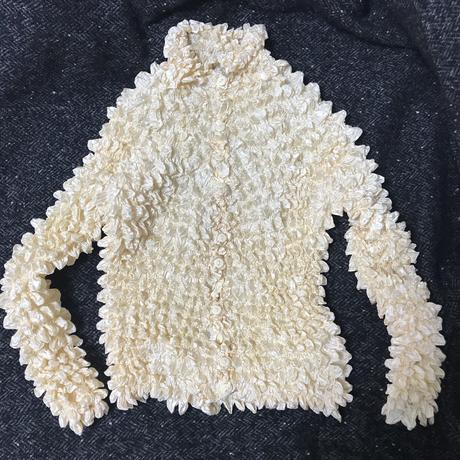 【used】pop corn cardigan