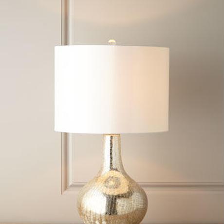 Gold Bottle Class Gorge Lamp
